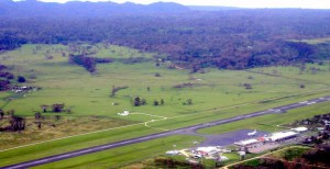 Port Vila's Bauerfield Airport ... three airlines now refuse to fly there. Image: Vanuatu Daily Post