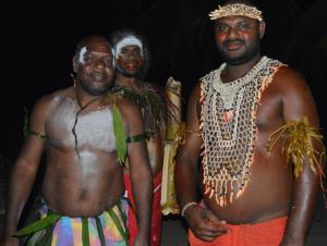 Milton Tyotam Kwaipo ... multimedia studio in Rabaul. Image: Pasifika Renaissance