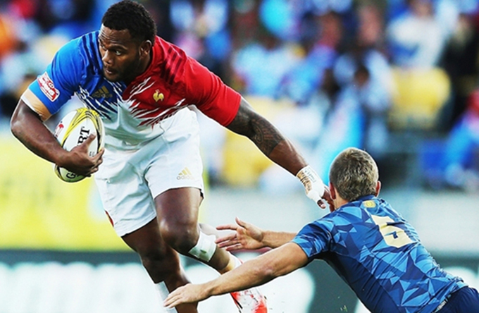 Fiji-born France Sevens wing Virimi Vakatawa ... in the new generation Six Nations squad. Image: Planet Rugby