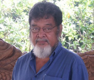 "The late Professor Epeli Hau'ofa ... the ""new Oceania"". Image: USP"