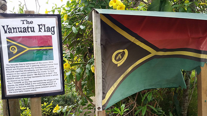 "7. Plus a series of ""listening post"" and story boards to tell the tale of Vanuatu."