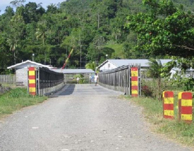 Buimo Jail near Lae ... up to 90 escapees. Image: PNG Loop