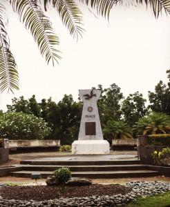 Saipan's Peace Park.