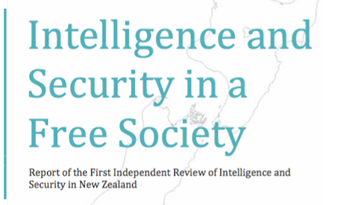 Intelligence and Security in a Free Society ,,, the report.