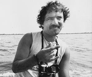 Fernando Pereira at Rongelap atoll. Image: David Robie