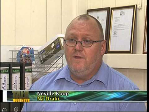 Na Draki's Neville Koop ...
