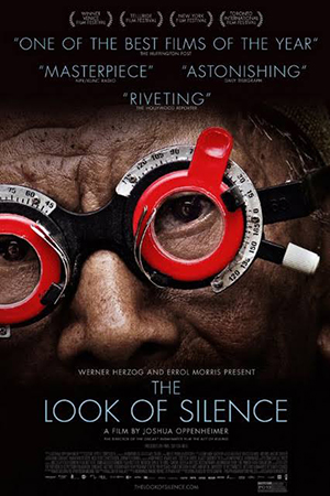 The controversial documentary The Look of Silence about the 1965 massacres in Indonesia.