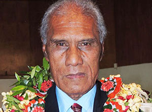 "Tonga's Prime Minister ... elected on a platform of pro-democracy ""transparency"". Image: Pacific Scoop"