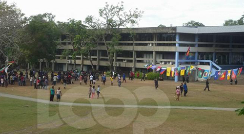 "The UPNG campus today ... ""threats against staff"". Image: LoopPNG"