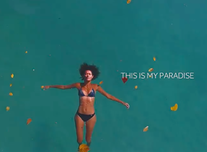 This is my paradise, Valérie Martinez. Image: Whitelight Media
