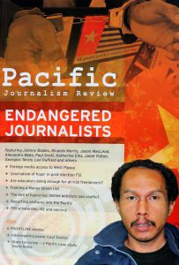 The latest edition of PJR...'Endangered Jouranlists'