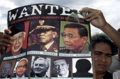 wanted Wiranto poster