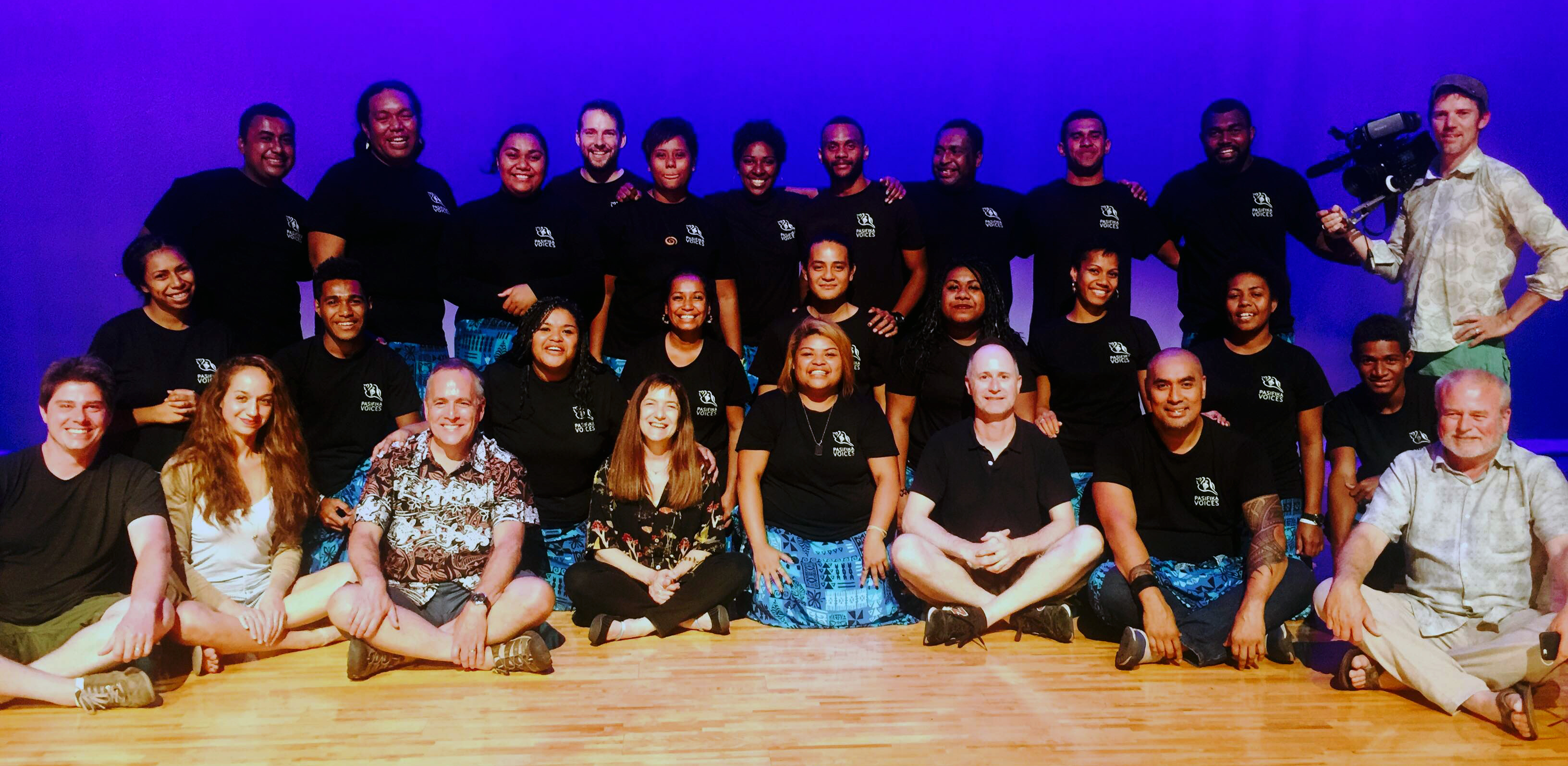 "The director of Moana has called the Pasifika Voices (pictured above) ""incredible"". Image: USP"