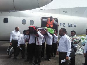 unitech_student_funeral