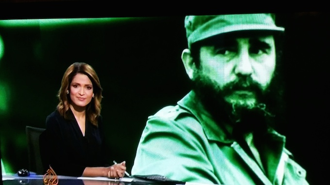 Fidel Castro ... an internationalist since the beginning of the Cuban revolution. Image: David Robie/Al Jazeera
