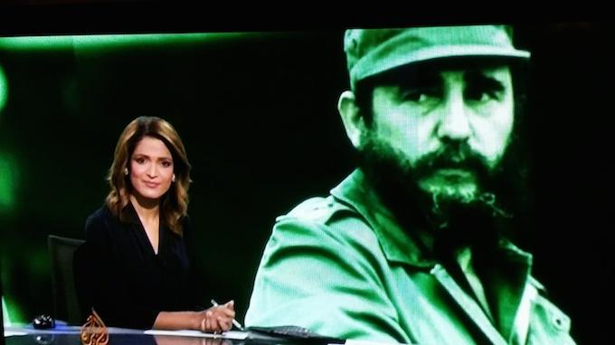 Fidel Castro ... an internationalist since the beginning of the Cuban revolution. Image: David Robie/Al Jazeera