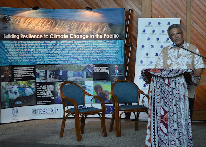 Regional meeting eyes Pacific climate migration and displacement