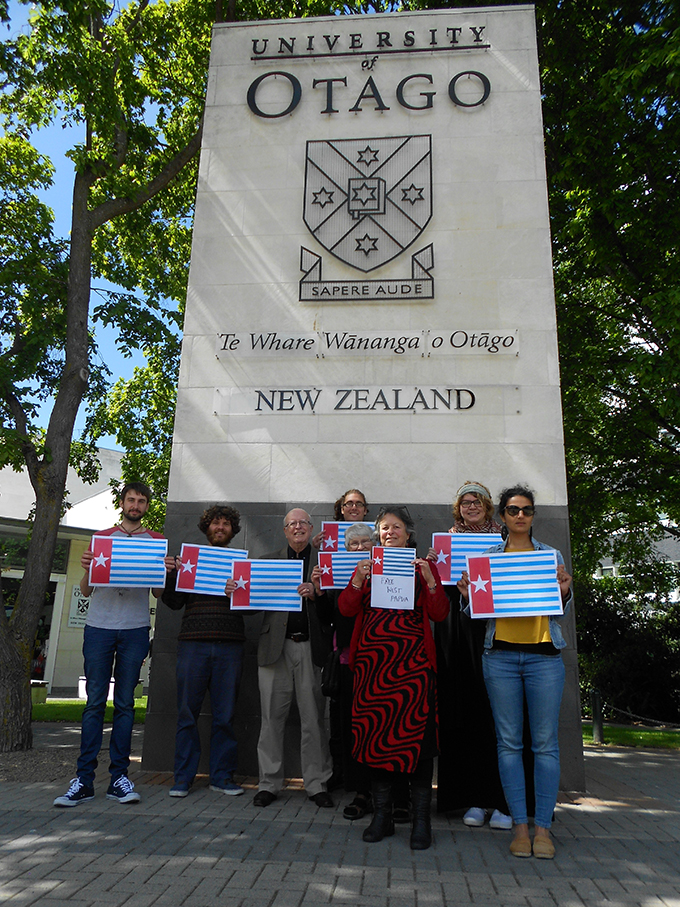 Staff and research students at the National Centre for Peace and Conflict Studies, University of Otago. Image: Heather Devere/NCPCS