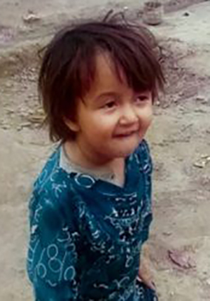 Three-year-old Fatima, one of the alleged civilian casualties in the 2010 Afghanistan raid by NZ SAS soldiers. Image: Hit & Run