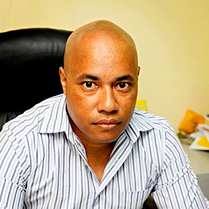Papua New Guinean journalist Alexander Rheeney, who is also president of the PNG Media Council. Image: PNG Media Council