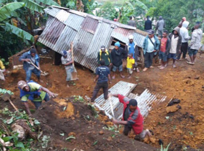 Aid Needed for PNG Quake Survivors