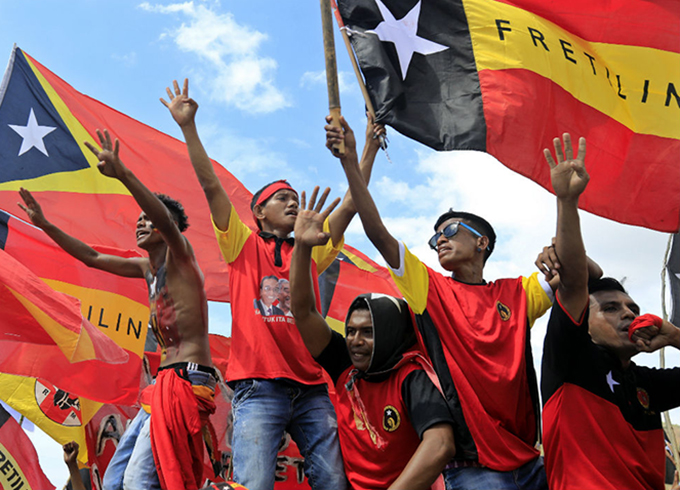 East Timor votes after tense campaign