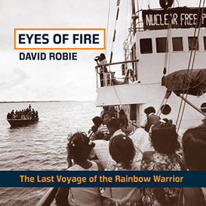 The 2015 edition of Eyes of Fire with the Rongelap evacuation on the cover. Image: LI