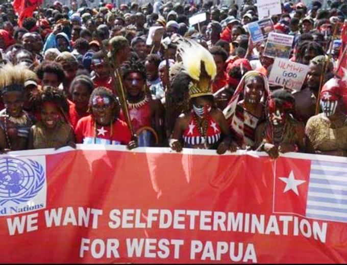 Image result for west papua demonstration