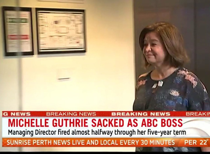 Peter Manning Despite Her Good Intentions Michelle Guthrie Was