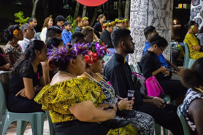 Part of the crowd at the USP journalism awards. Image: Harri Selmen/Wansolwara