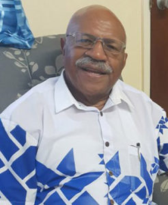 Fiji Opposition Leader Sitiveni Rabuka … intimidated and cowed media. Image: Sri Krishnamurthi/PMC