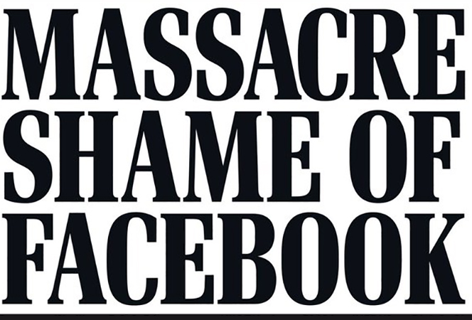Facebook pulls 1.5 million mass murder videos