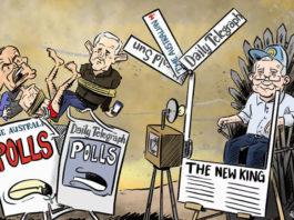 2019 federal election cartoon