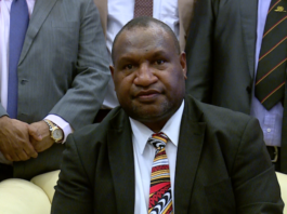 PNG PM James Marape