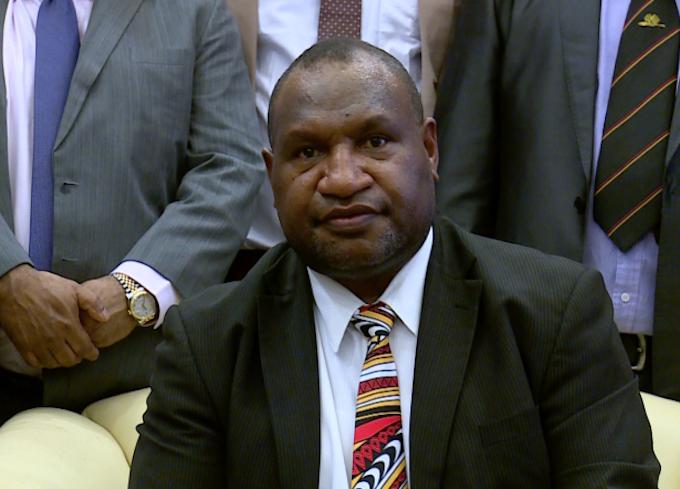 PNG PM James Marape