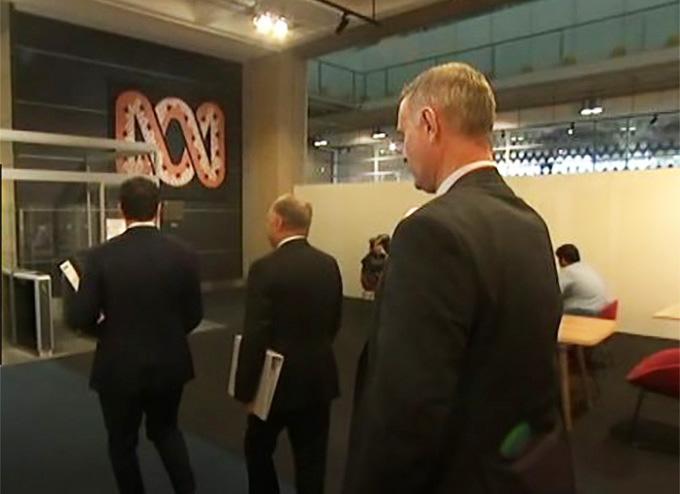 Police raid ABC