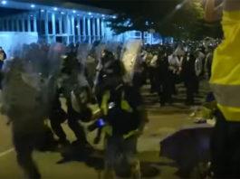 Hong Kong police crackdown
