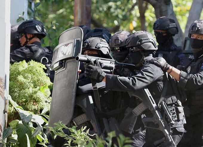 Surabaya dorm raid