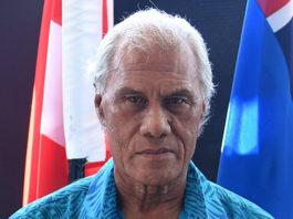 'Akilisi Pohiva in Tuvalu