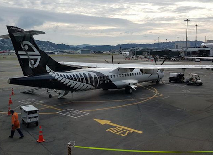 Air NZ aircraft