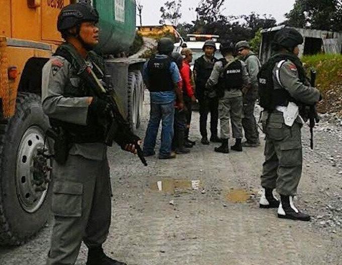 Papua police