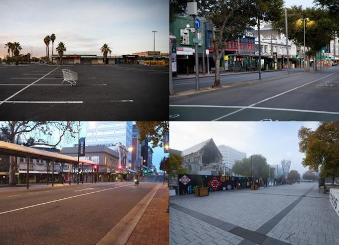 NZ empty streets