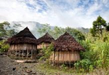 PNG village