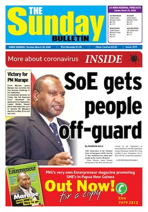 The Sunday Bulletin 29032020