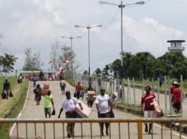 Wutung PNG border post
