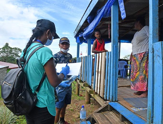 Fiji contact tracing