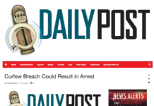 Vanuatu curfew