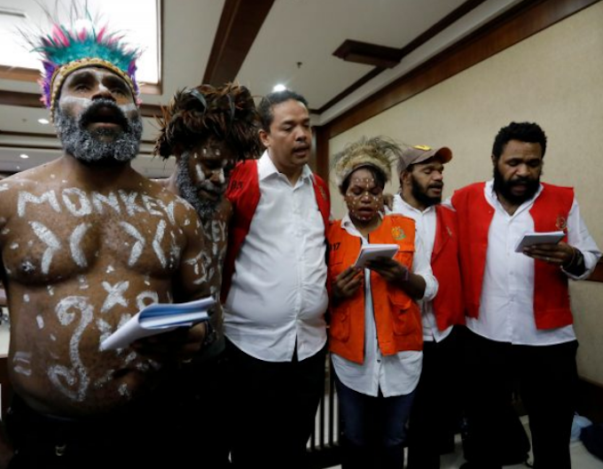 Jakarta Six activists for Papua freedom convicted of treason set free