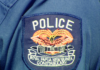 PNG police badge