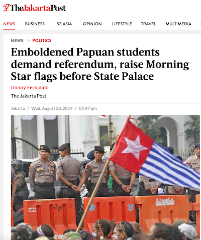 Papuan students